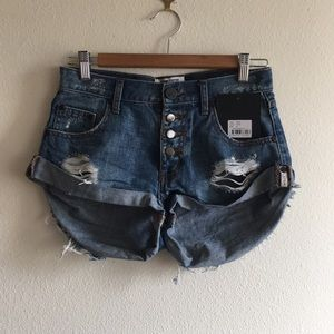 One Teaspoon For Free People Ford Bandits Shorts